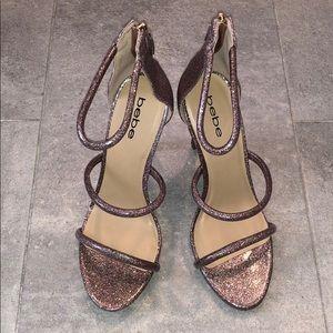 Bebe pink high heels
